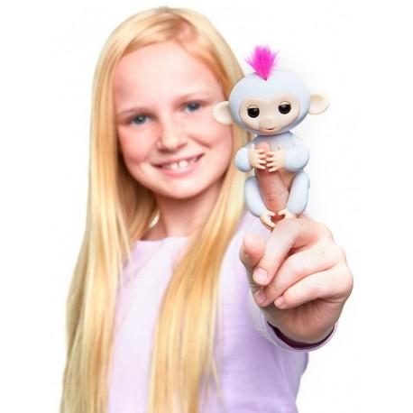 Fingerlings Zabawka interaktywna Sophie Biała
