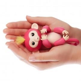 Fingerlings Zabawka interaktywna Małpka Bella Róż