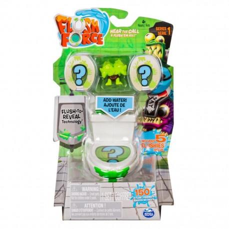 Spin Master Flush Force Toaleta z 5 figurkami