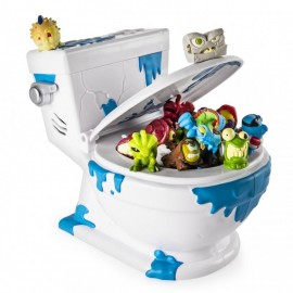 Spin Master Flush Force Duża Toaleta i 4 figurki