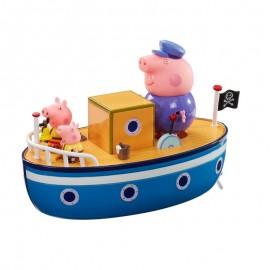 TM TOYS Peppa Łódka z 3 figurkami