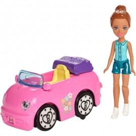 Mattel Barbie On The Go Myjnia samochodowa FHV91