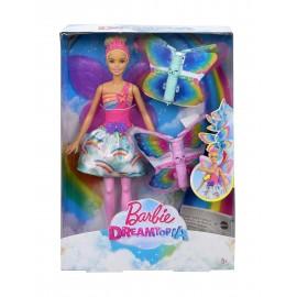 Mattel Barbie Dreamtopia Wróżka latające skrzydełka