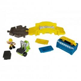 Mattel Bob Zestaw Naprawa mostu + piasek kinetyczny DXP75