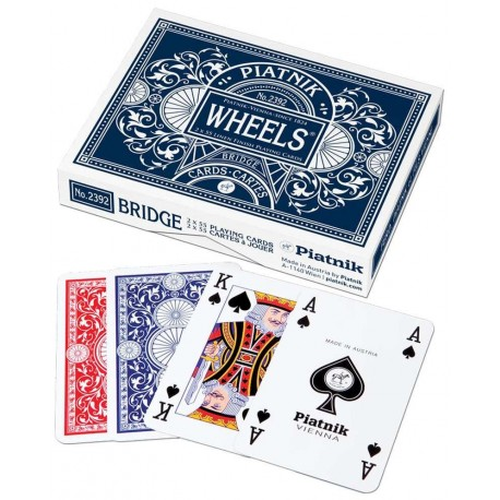 PIATNIK Karty 2 talie Wheels