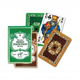 PIATNIK Karty 2 talie Liście Dębu