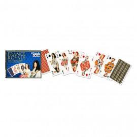 PIATNIK Karty Lux 2 talie Francuscy Królowie