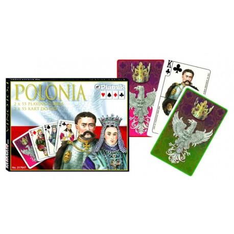 PIATNIK Karty Lux 2 talie Polonia