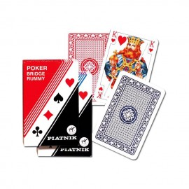 PIATNIK Karty 1 talia Pllastikowe Standard