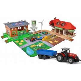 MAJORETTE Creatix Duża farma z warsztatem