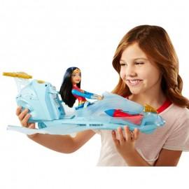 Mattel DC Super Hero Odrzutowiec Wonder Woman DYN05