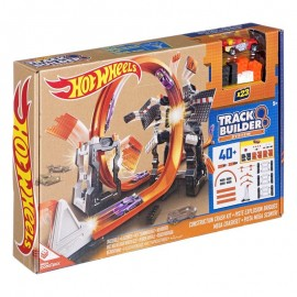 Mattel Hot Wheels Track Builder Szalone Kraksy DWW96