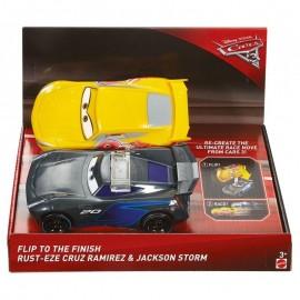 Mattel Cars Auta Odjazdowe Fikołki FCX95