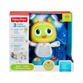 FISHER PRICE BEBO - TANCZ I SPIEWAJ ZE MNĄ DJX24